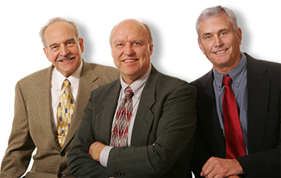 Fred Honeck, Harvey Abernathey, Paul Goetz