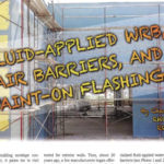 Fluid-Applied WRB, Air Barriers, and Paint-On Flashings